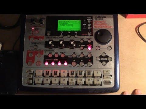 SP-505 Brief Demo