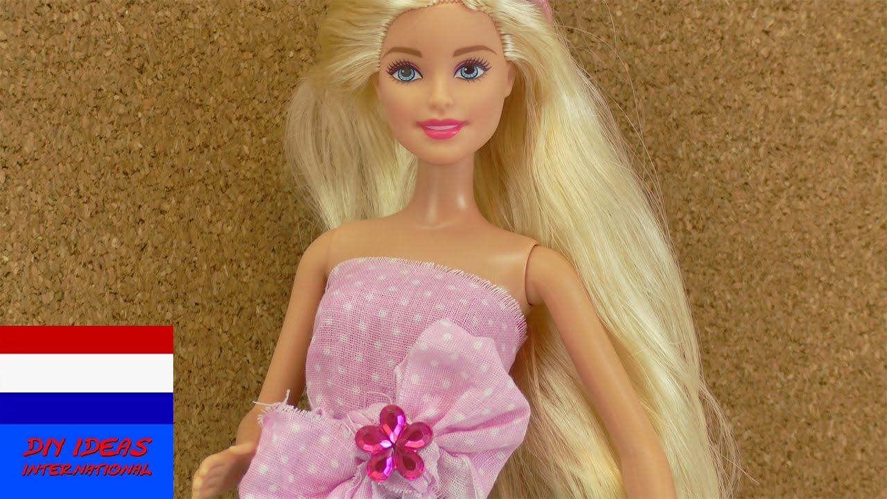 Zelf Barbie Topje Maken Zeer Eenvoudig Na Te Maken Mode Voor