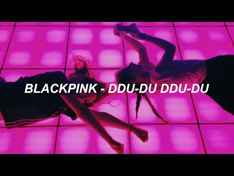 BLACKPINK - '뚜두뚜두 (DDU-DU DDU-DU)' Easy Lyrics