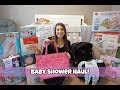 Baby Shower Haul! | Cindy&Family