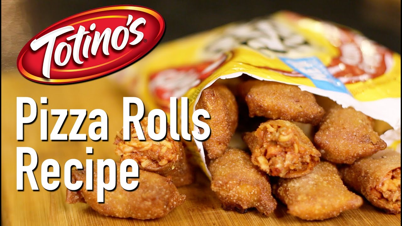 DIY Totino's Pizza Rolls - YouTube