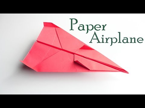 How To Make A Best Paper Airplane - Best Paper Airplane Tutorial - Paper Airplane - DiyCoolHacks