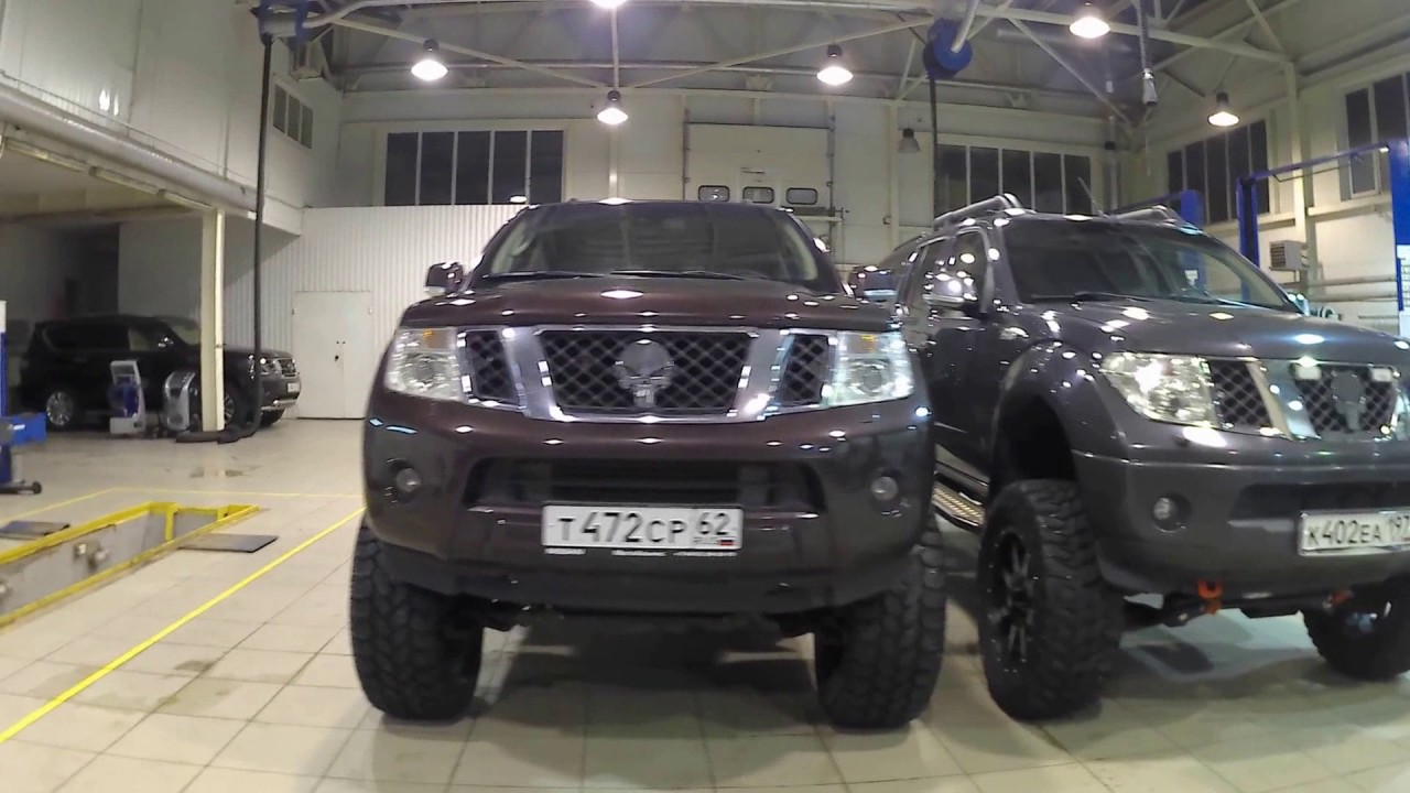 """NISSAN PATHFINDER LIFTED +27cm and NISSAN NAVARA LIFTED ...