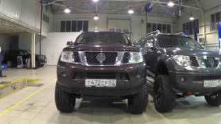 Nissan Pathfinder and Navara 2011 Videos