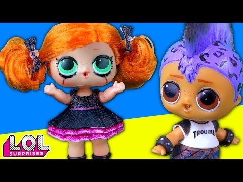 ПАНКИ БРОСАЕТ СКЕЙТИ! Мультик про куклы лол сюрприз LOL dolls