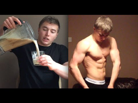 Home Made Mass Gainer Shake – 5 Ingredients (With No Whey, Supplements Etc)