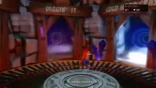 Crash Bandicoot Perdiendo el tiempo