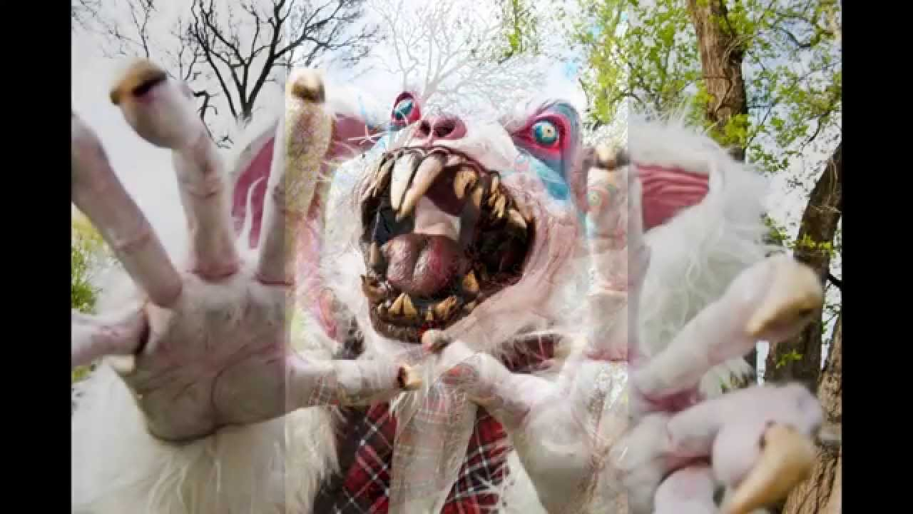 Scary Easter Bunny - YouTube