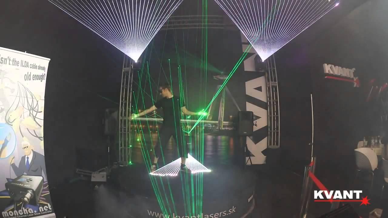 Interaktive Lasershow by Kvant Laser