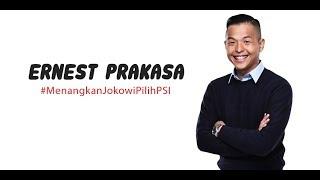 Ernest Prakasa Dukung Jokowi & PSI