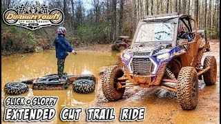 Slick + Sloppy Georgia Clay in Durhamtown - Feature Length Trail Ride - SXS/UTV Trail Vlog 014