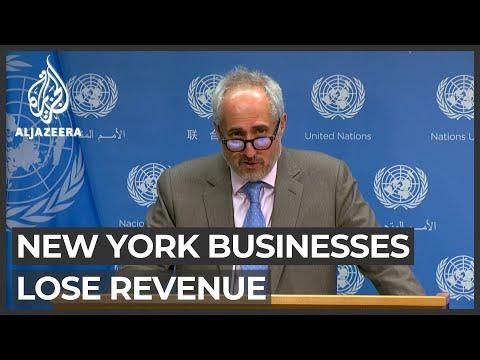Challenges as UN goes virtual: New York businesses lose revenue