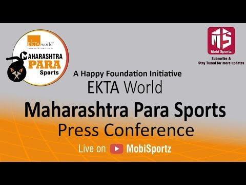 MAHARASHTRA PARA SPORT Press Conference
