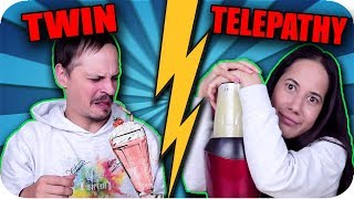 Twin Telepathy Smoothie Challenge