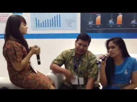 karaoke nyanyi bareng raisya & tasha kamila di Jakarta Convention Center