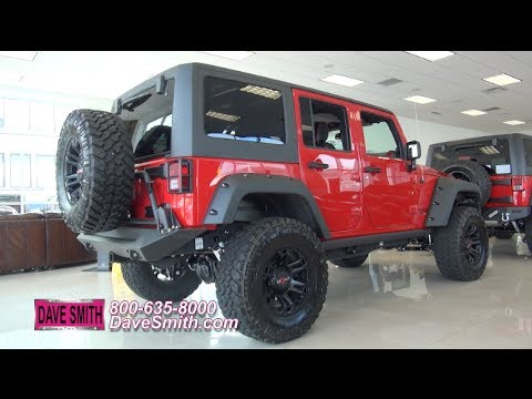 Custom 2014 jeep wrangler rubicon unlimited slingshot for Dave smith motors jeep
