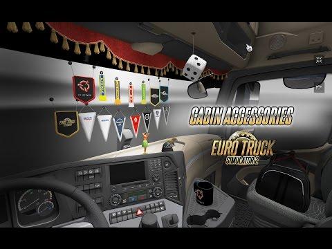 Pimp My Ride: Euro Truck Simulator's Cabin Accessories