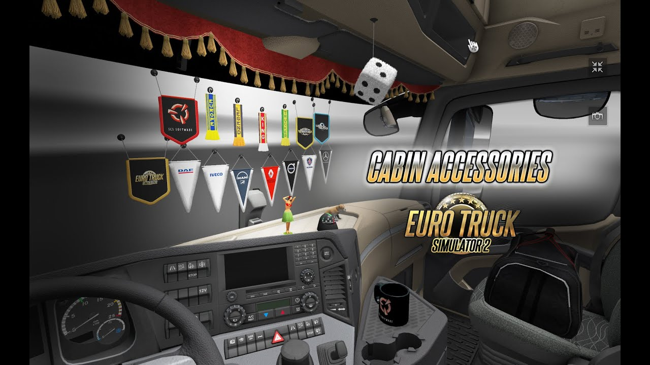 for ats dlc truck accessories x cabin other american cabins mods