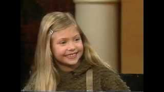 Taylor Momsen interview 2000.  Age 7