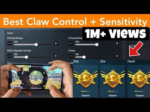 This Sensitivity Has Zero Recoil! | Claw Control Setup & Sensitivity  | Conqueror | PUBG Mobile
