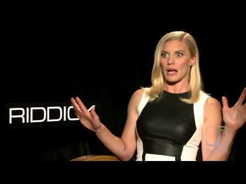 Katee Sackhoff RIDDICK Interview