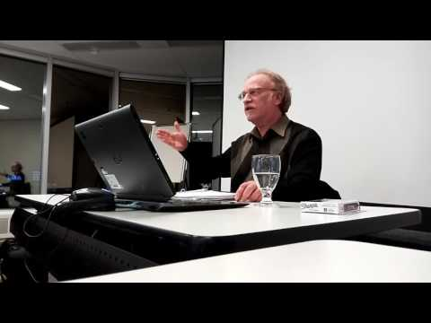 Alan Yonge speaking to Toronto lawyers about chapter 7 of Canadian Constitution