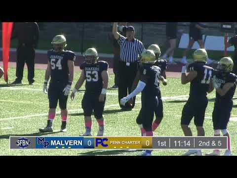 Malvern Prep vs Penn Charter Football (2018-10-12)
