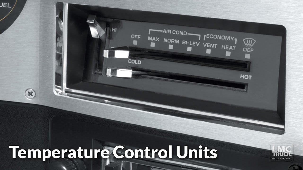 Temperature Control Units For Chevy Amp Gmc Trucks