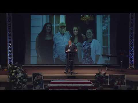 Daniel P. Mitchell Funeral Service (August 30, 2017)
