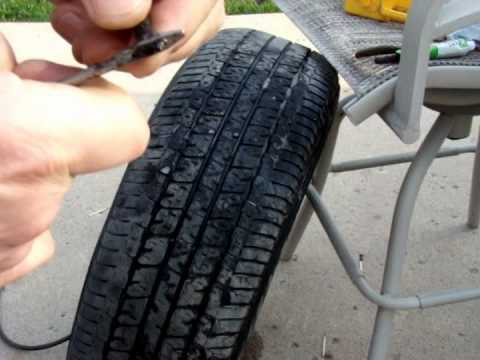 How To Repair Hole in Flat Car Tire Using Tire Repair Kit – Fix Do it YOURSELF!