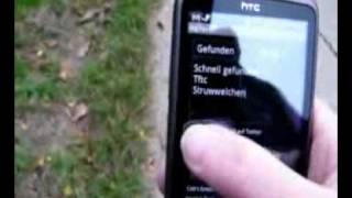 Geocaching-App c:geo auf dem HTC Desire