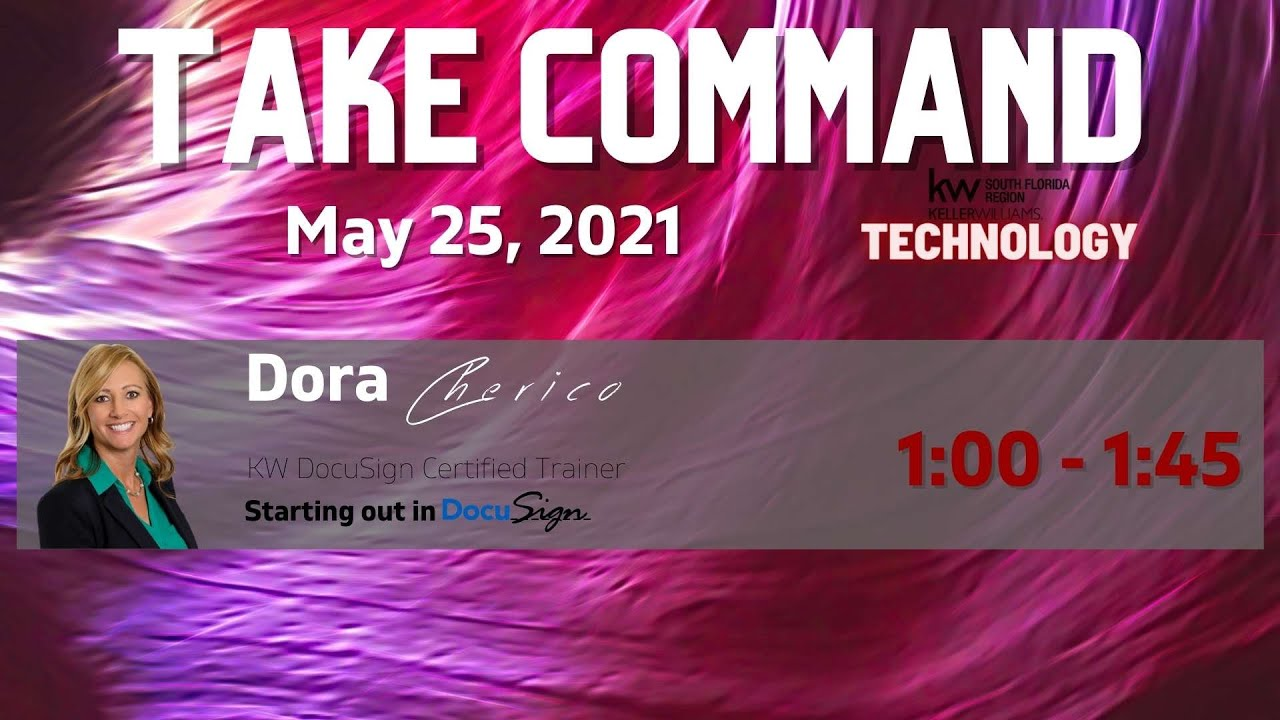 May: Take Command - Starting In DocuSign