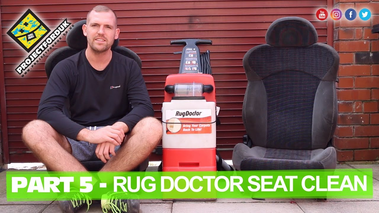 Part 5 Using Rug Doctor To Clean Car Seats 1993 Ford Fiesta Xr2i