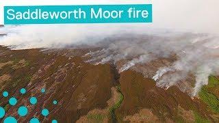 Saddleworth Moor Fire - An Eyewitness Account