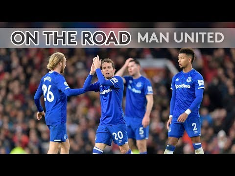 BIG DUNC SINGS WITH AWAY FANS! | ON THE ROAD: MAN UNITED V EVERTON
