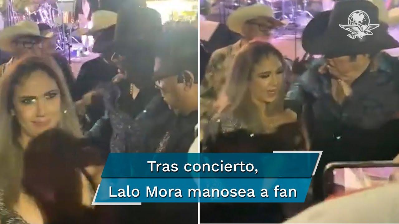 Captan a Lalo Mora toqueteando a una fan... ¡Otra vez!