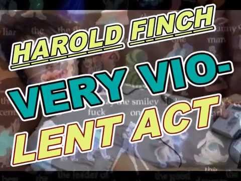 VERY VIOLENT ACT - HAROLD FINCH - PERSON OF INTEREST