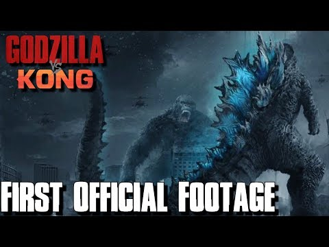 The First GODZILLA VS KONG Footage Was Revealed