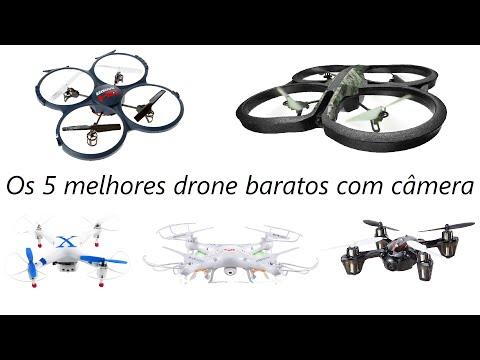 Top 5 Melhores Drones com Câmera e Baratos 2017