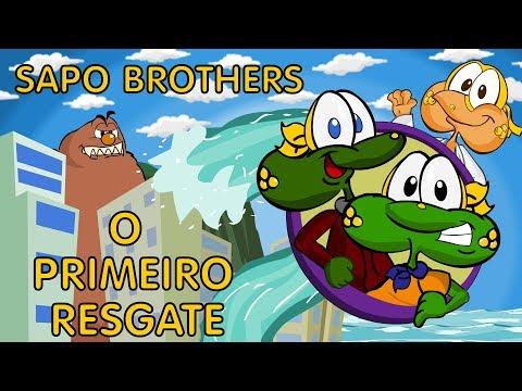 Super Sapo Brothers e O Primeiro Resgate Desenho animado brasileiro em Português episódio completo