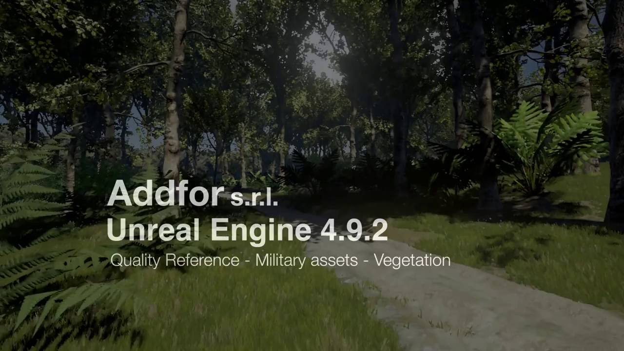 Military Assets in the Woods - Quality Demo - UE4 (4 9)