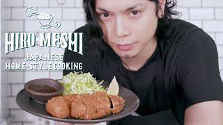 "#12 How To Cook ""TONKATSU"" Japanese Home-Style Cooking / Hiro Mizushima(水嶋ヒロ)"