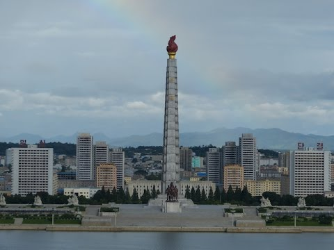 Pyongyang Panorama View @ Juche Tower (and others)