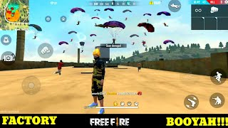 Free fire factory fight booyah 49- ff fist fight on factory king - total headshot - Garena free fire