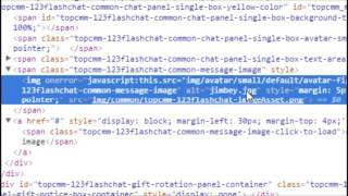 Redirecionar con imagenes 123flashchat  version HTML (Rompien Seguridad 123FlashChat Parte 4)