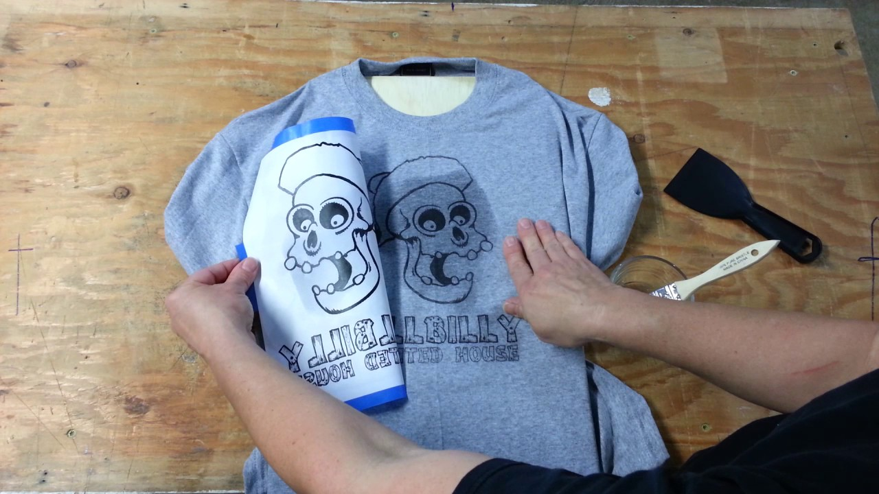 Make An Inexpensive T Shirt Print Youtube