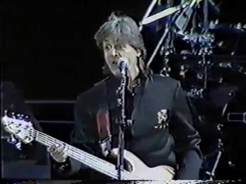 Paul McCartney Live At The Sun Devil Stadium, Tempe, USA (Wednesday 4th April 1990)
