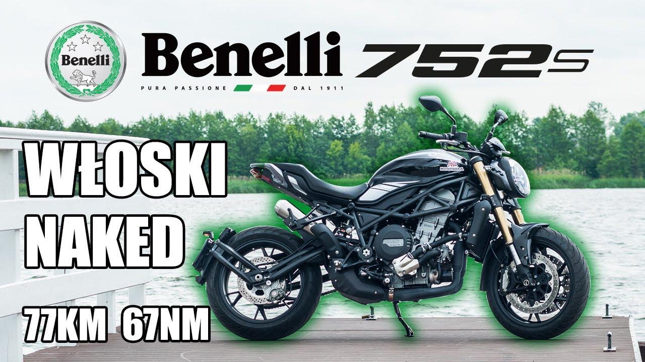 Włoski naked Benelli 752 S - Nikt nie przejdzie obok niego obojętnie