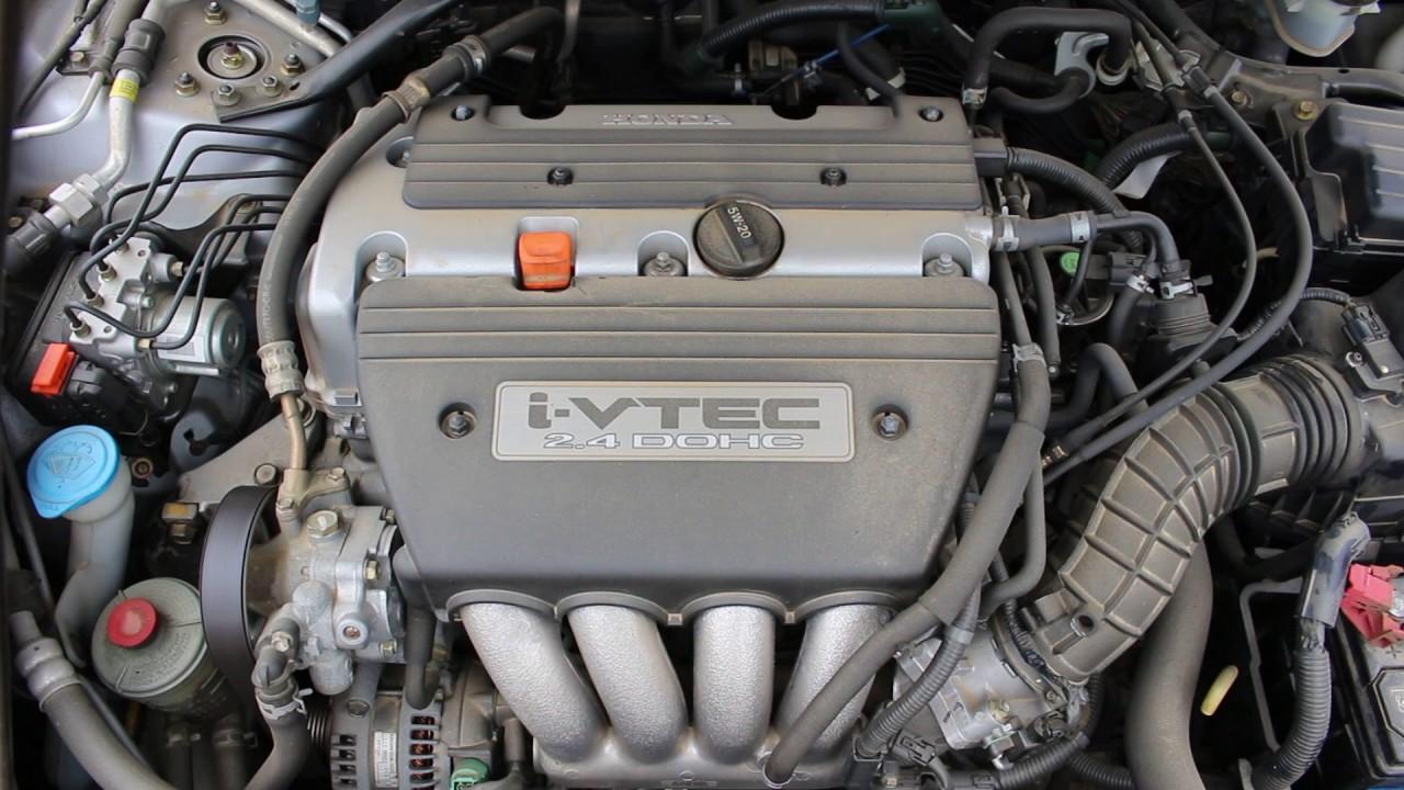 2005 Honda Accord Ex Coupe 2 4l Engine Run Video 00216050