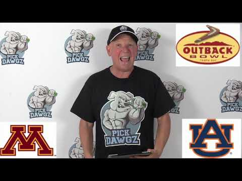 Auburn vs Minnesota 1/1/20 Free College Football Pick and Prediction: Outback Bowl